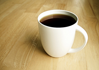 A cup of coffee to share with friends