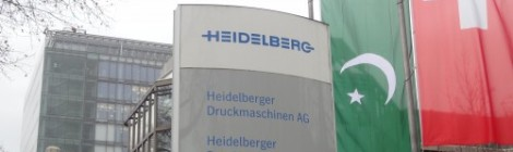 Entrance sign to Heidelberg