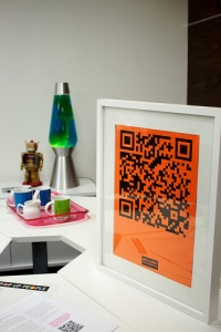 orange qr code via flickr adam tinworth