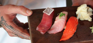 QR code sushi